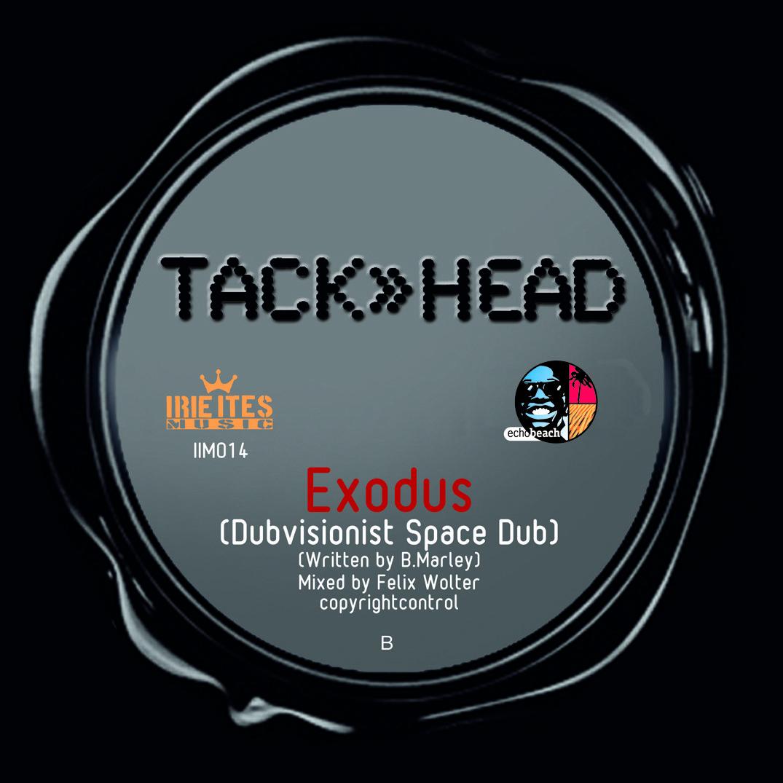 Ameise Vinyl 7inch Label Template TackHead Exodus Dubvisionist Dub Space 7 Inch IIM014