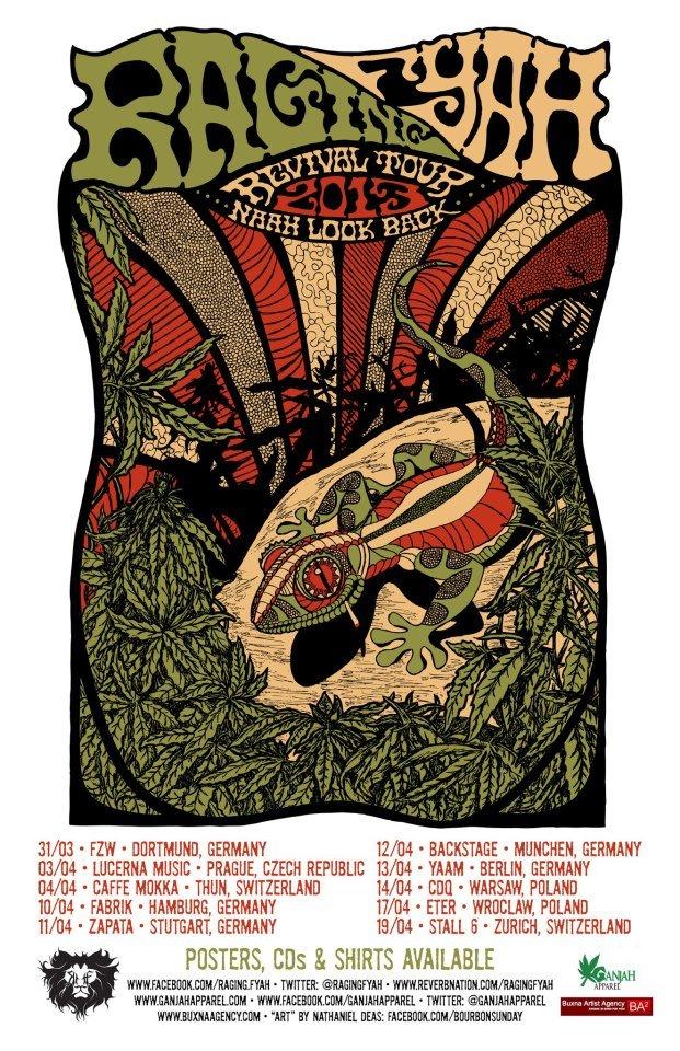 Raging Fyah - Revival Tour 2013