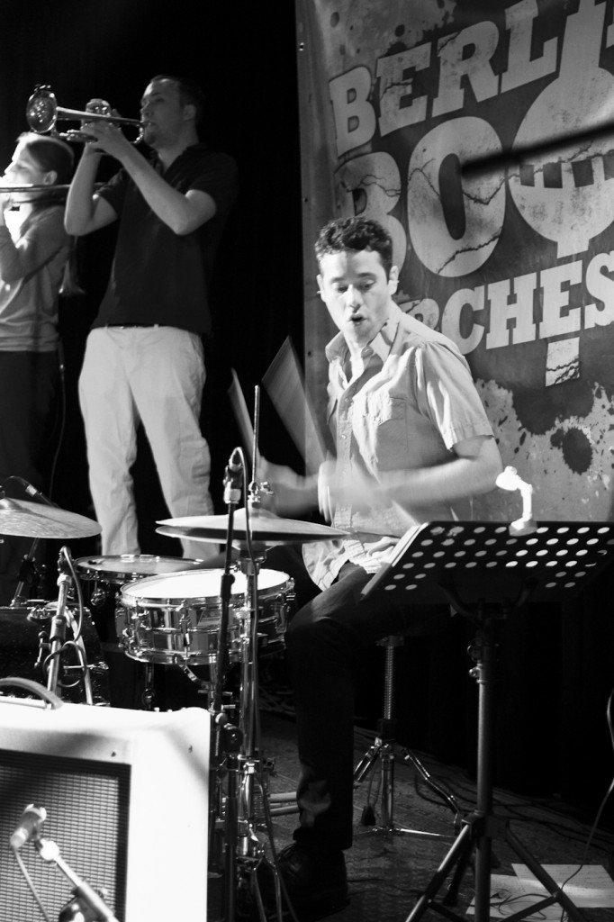 Berlin Boom Orchestra in der Honigfabrik