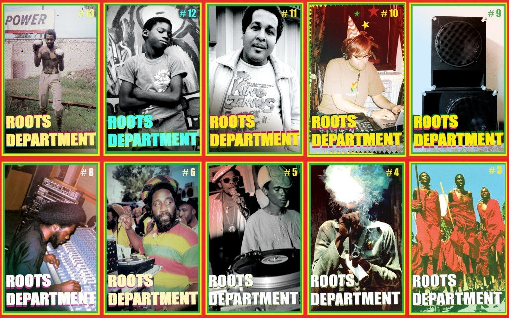 Roots Department Flyer for Collage