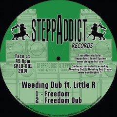 """Weeding Dub feat. Little R """"Freedom"""" / I Axe """"Peaceful Time"""" (Steppaddict)"""