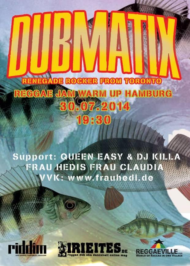 Dubmatix Hamburg 30.7.14