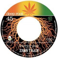"""Zion Train """"Warrior Step"""" / """"Warrior Dub"""" (Deep Root)"""