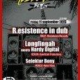 Rebel Vibes feat. R.Esistence In Dub, Longfingah meets Hardy Digital und Selektor Bony Mit R.Esistence In Dub haben sich die Macher von Rebel Vibes einen feinen Act aus Italien an […]