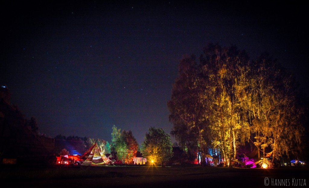 Soul Tempel at Night