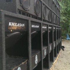 Jah Shaka auf dem Killasan Soundsystem, Berlin, 13.09.15