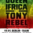 """Queen Ifrica & Tony Rebel Queen Ifrica, von Reggae und Dancehall Ikone Tony Rebel einst bei einem Konzert zu Ehren von Garnett Silk entdeckt und fortan in seiner Talentschmiede """"Flames..."""