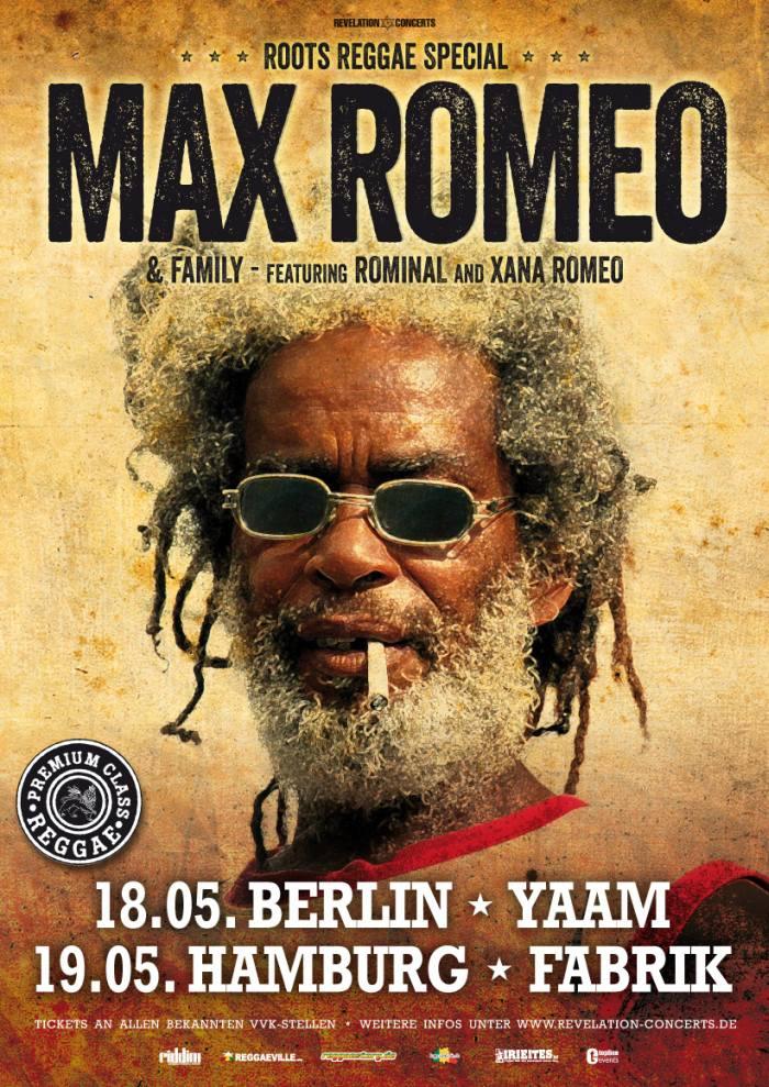 Max Romeo 2016