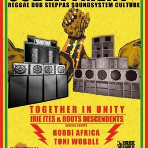 After the long summer break we will keep the tradition and start the new season together inna unity! TWO SOUNDS – ONE ARENA IRIE ITES SOUNDSYSTEM & ROOTS DESCENDENTS SOUNDSYSTEM […]