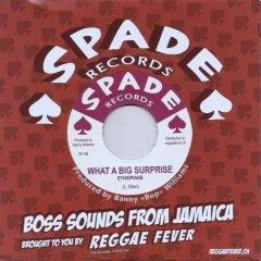 "Ethiopians ""What A Big Surprise""/Winston Shan ""Treasure Of Love"" (Spade)"