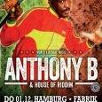 """Anthony B in Hamburg & Hannover """"Give Thanks for Life"""" – """"Bedanke dich für das Leben"""", singt Keith Blair alias Anthony B in einem seiner eingängigsten Lieder. Diese positive Lebenseinstellung..."""