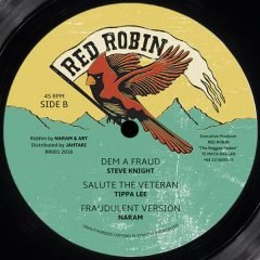 "Midnight Riders ""Outta Road""/ Steve Knight ""Dem A Fraud"" (Red Robin)"