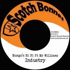 "Mungo's Hi Fi feat. Mr Williamz ""Industry"" / ""Solomon Riddim"" (Scotch Bonnet)"