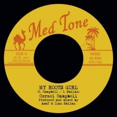 """Cornell Campbell """"My Roots Girl"""" / U-Roy """"My Ethiopian Queen"""" (Med Tone Records)"""