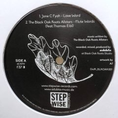 "Black Oak Roots ""Love Word EP"" (Stepwise Records)"