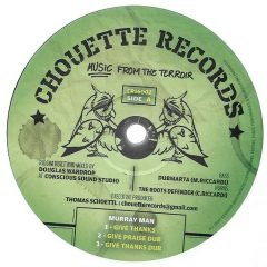 """Murray Man & Amelia Harmony """"Give Thanks"""" / """"Warrior Sister"""" (Chouette Records)"""