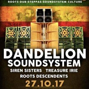 Am 27. Oktober präsentieren Roots Descendents & Irie Ites ein wahres Schmankerl aus der deutschen Soundsystem Szene: Dandelion Soundsystem kommen mit ihrem einmaligen Soundsystem ins Kasseler Panoptikum. Neben Unmengen an […]
