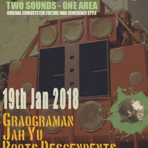 Am 19. Januar starten unsere Freunde vom Roots Descendents Soundsystem in die nächste Subliftment-Runde! Mit am Start sind Graograman Hifi mit ihrem Soundsystem und Jah Yu am Mike! FB Event: https://www.facebook.com/events/189493491606186/