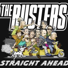 """The Busters """"Straight Ahead"""" (Ska Revolution Records)"""