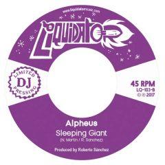 "Alpheus ""Sleeping Giant""/""Just A Little"" (Liquidator Music)"