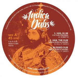 "Culture Freeman ""Hail H.I.M."" Indica Dubs & Chazbo ""Blood Of The Poor"" – 12 Inch (Indica Dubs – 2018) Seit 2010 legt das britische Roots- und Dublabel Indica Dubs immer […]"