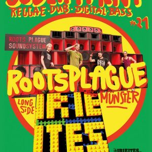 STRONG MUSIC FOR STRONG PEOPLE After a great season start with Chalwa Sound in February we present you the next booking outta Reggaetown Münster: Get ready for ROOTSPLAGUE SOUNDSYSTEM ! Well […]