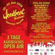 Weedbeat-Time again! Und wieder öffnet das kleine, aber feine Reggaefestival in der Nähe von Hildesheim seine Pforten. Kommt vorbei und genießt Musik vonJulian Marley & The Uprising, Dactah Chando, The...