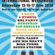 Reggae Recipe 4th International Weekender Über diese schöne Wochenendveranstaltung in Amsterdam zu schreiben ist gar nicht so einfach, da es sich um ein Ereignis handelt, an dem einfach eine Crew […]