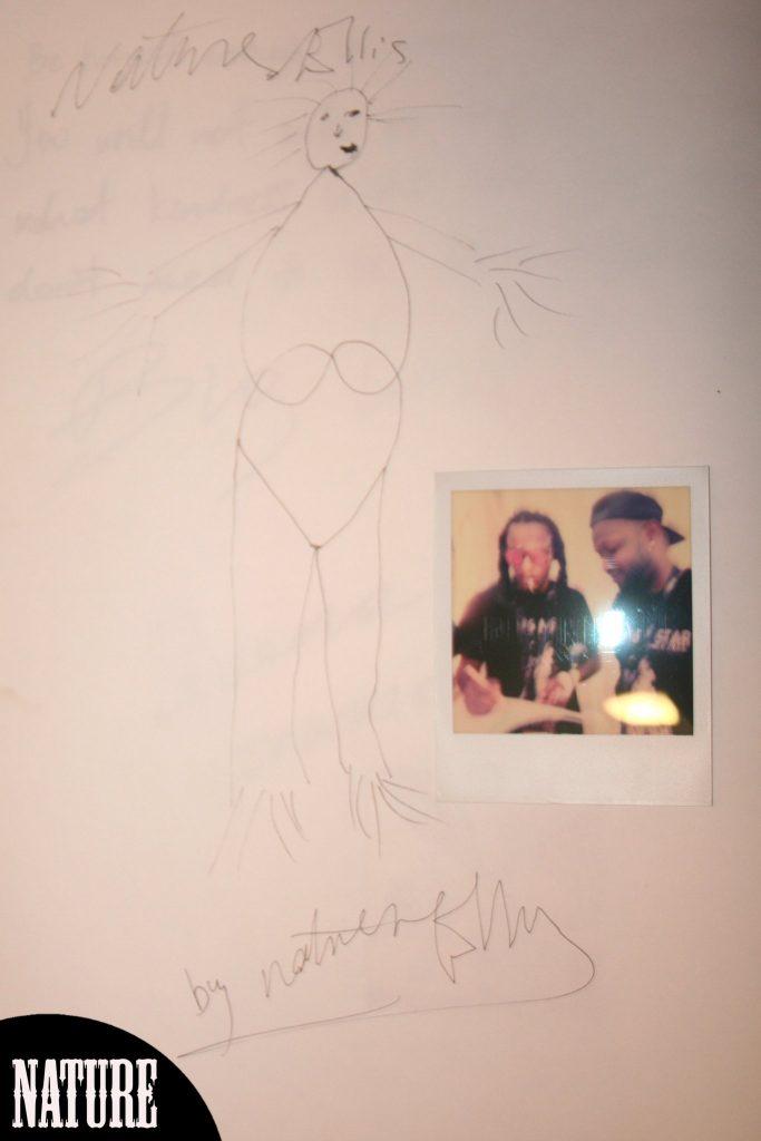 Nature Ellis Zeichnung im RJ-Sketchbook