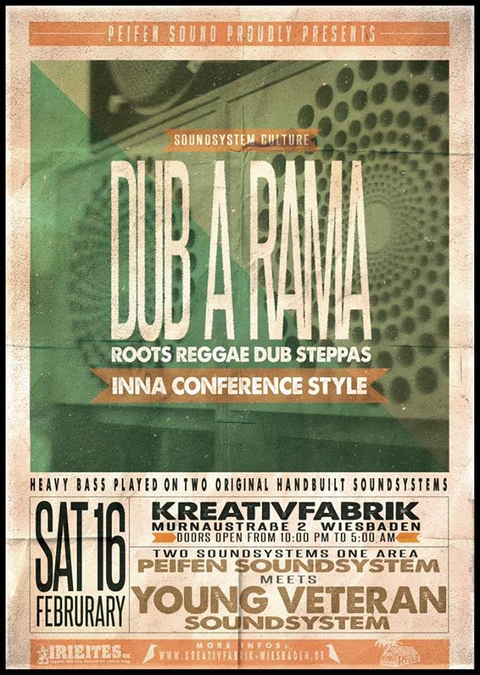 Dub A Rama Conference Session Peifen Sound Ls Young Veteran