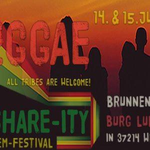 Das Reggae-Share-Ity Soundsytem-Festival geht in die vierte Runde. Auch dieses Jahr bauen Irie Ites und Roots Descendents wieder ihre Boxentürmen am Brunnenhaus der Burg Ludwigstein bei Witzenhausen auf. Wie auch...