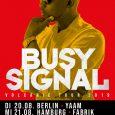 Busy Signal ist fraglos einer der innovativsten Reggae-Künstler unserer Zeit. Er überschreitet immer wieder zielsicher und gekonnt die vermeintlichen Grenzen des Genres und im Moment scheint sein musikalischer Output schier […]