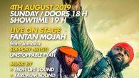 Am Sonntag den 4.8.2019 präsentiert das RIDDIM UP Team ein ganz exklusives Highlight für alle Reggae & Dancehall Fans. Fantan Mojah wird exklusiv an diesem Tag mit dem Duisburger...