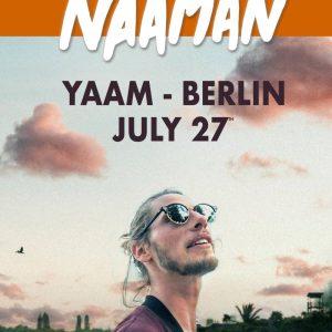 Naâman – Beyond Europe Tour – German Gigs Der 29 jährige Sänger aus dem Norden Frankreichs ist in seiner Heimat und weit darüber hinaus ein angesagter Künstler, der in seiner...