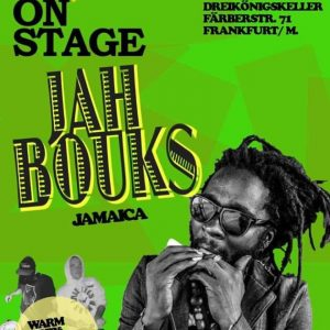 Bevor der Sommer zu Ende geht ist Jah Bouks in verschiedenen Städten in Deutschland und Europa bei seiner Reggae Revolution Tour zu sehen. Einer der biggest Tunes des Jahres 2013...