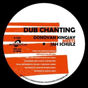 """Donovan Kingjay meets Jah Schulz """"Chanting"""" / """"Dub Chanting"""" – 7 Inch (Railroad Records – 2019) Jah Schulz meldet sich mit einer neuen 7 Inch zurück. Nach der mächtigen 12..."""