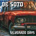 """De Soto """"Silverado Days"""" (De Soto/Echo Beach Lifefidelity -- 2020) Ein verrosteter Lada ziert das Cover des Albums """"Silverado Days"""" von De Soto und verbreitet die Stimmung eines Lost Places..."""