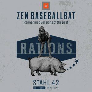 """Zen Baseballbat """"Rations"""" (Stahl 42 – 2021) Das Jahr beginnt bei mir mit einem wirklich außergewöhnlichen Album. Dem einen oder anderen werden Zen Baseballbat von ihren Alben auf Moon Ska-Records […]"""